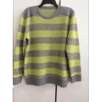 China Man's color matched O-neck pullover on sale