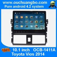 Wholesale Ouchuangbo Toyota Vios 2014  android 4.2 OS 10.1 inch big screen car dvd radio multimedia navi from china suppliers