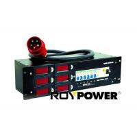 Wholesale 3 U Portable Three Phase Power Distribution Box With Schuko , Power distributor box 32A from china suppliers