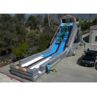 Wholesale CE Certification Commercial Inflatable Slide , 30M Length Large Inflatable Slides from china suppliers