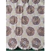 Wholesale Big Flower Swiss Cotton Lace Fabric With Rayon Embroidery/ Swiss Cotton Lace Fabric Factory from china suppliers