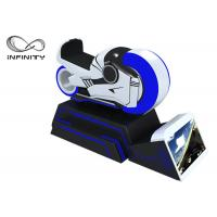 Wholesale Blue And White Color 9D VR Simulator One Year Warranty / VR Racing Motorcycle from china suppliers