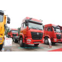 Wholesale 6 X 4 SINOTRUK HOHAN TRACTOR TRUCK 371HP Euro II / EURO III emission standard from china suppliers