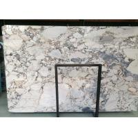Galaxy Blue Marble Natural Stone Slabs 18mm Highly Polished Moisture Resistant for sale