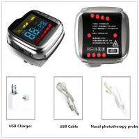 China Portable Medical Care Laser Therapy Watch Reduce Blood Pressure Battery Powered on sale