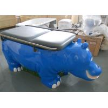 Cute Hippo Figure Pediatric Exam Table for sale