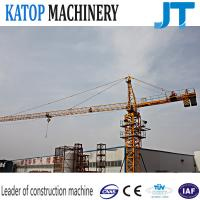 Wholesale Tower crane 5t load QTZ63-TC5010 with low price for Peru from china suppliers