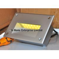 Buy cheap 3W Yellow Recessed LED Wall Lights Aluminum Modern Indoor Wall Light SMD3020 from wholesalers