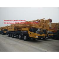 Wholesale Yellow 100 Ton All Terrain Crane XCMG QY100K-I  Max. Travel Speed 80 Km / H from china suppliers
