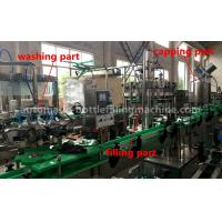 Wholesale Energy Drink Glass Bottle Filling Machine 220V / 380V Voltage For Small Scale Beverage Factory from china suppliers