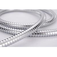 China High Glossiness Metal Flexible Shower Hose Replacement Anti twist for Bathroom on sale