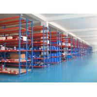 Buy cheap Customized Size Metal Medium Light Duty Racking System For Warehouse Storage from wholesalers
