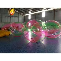 China Inflatable Walking Water Ball Inflatable Water Toys 2m Diameter TPU / PVC on sale