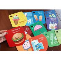 Wholesale Math Alphabet Children'S Learning Flash Cards Free Design Resuable Multi Color from china suppliers