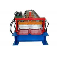 Wholesale Self Locked Strip Standing Seam Machine , Roof Panel Roll Forming Machine 20 Rows Roller from china suppliers