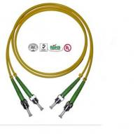 Wholesale 2 Core ST Fiber Optic Cable , PVC LSZH Cable For Data Transmission from china suppliers