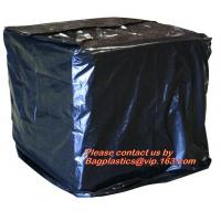 Wholesale Reusabe PVC Tarpaulin Cover,Heavy Duty Plastic PVC Pallet Cover Tarp, Duarable recylable 100% virgin PE material stretch from china suppliers