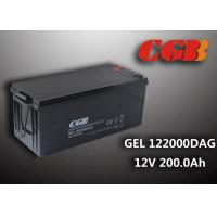 Wholesale 12V 200AH non spillable sealed rechargeable battery , GEL Military Energy Storage Battery from china suppliers