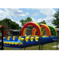 Wholesale Summer Giant Rainbow Double Lane Slip N Slide Arch Garden Water Slides from china suppliers