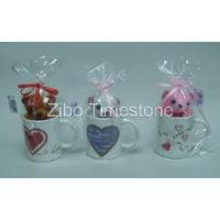 Wholesale Stoneware Decaled Mug With Toy Bear (TS019-016) from china suppliers