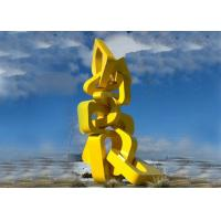 Wholesale Urban Large Abstract Metal Sculpture Modern Style For Landscape Harmony Towers Shape from china suppliers