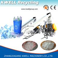 High Efficience Pet Bottle Waste Recycling Machine/Bottle Washing Line for sale