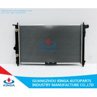 Natural Aluminum Water Cool Auto Radiator For Daewoo Nubria / Leganza Oem 96351103 for sale