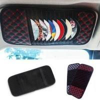 Wholesale car sun visor organizer sunshade organzier for CD from china suppliers