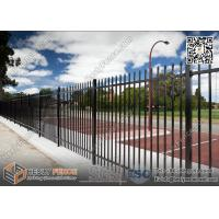 Wholesale 1800X2400mm Garrison Metal Tubular Fence for sale | China Steel Picket Fence from china suppliers