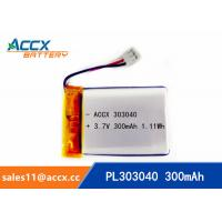 Wholesale 303040pl 3.7V polymer battery with 300mAh 400mAh 500mAh 600mAh 10000mAh best quality battery from china suppliers