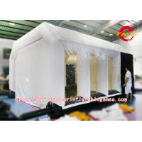 Wholesale Car Spray Bake Paint Inflatable Tent Customized Size Oxford / PVC Material from china suppliers