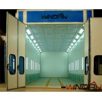 Quality 3×11KW Double-intake Centrifugal Fans Industrial Spray Booths For Exhaust Air for sale