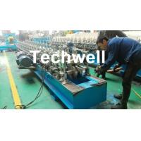 Wholesale Hat Channel Cold Roll Forming Machine With Hydraulic Cutting Type & PLC Frequency Control from china suppliers