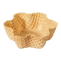 Quality CE Crispy Tart Chocolate Waffle Cones 92mm Caliber , Custon Size for sale