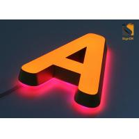 Buy cheap Mini Acrylic 3D LED Channel Letter Signs for Advertising Energy Saving from wholesalers