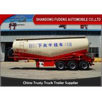 Wholesale 60 ton Bulk Cement Tanker Trailer transport powder, silos cement trailer from china suppliers