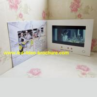 "Quality 4.3"" , 5 inch video player advertisement card,advertising video book with Touch for sale"