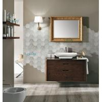 Wholesale Wall Mounted Transitional Bathroom Vanities Simple Design For Small Space Bathroom from china suppliers