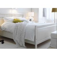Wholesale 100% Cotton White Percale Hotel Quality Bed Linen Fitted Sheet , Pillow Cases from china suppliers
