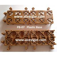 Wholesale PB-07 Cheap wood composite deck tile interlocking plastic floor tile from china suppliers