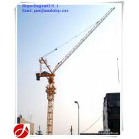 Wholesale china good supplier QTD125 luffing jib 10t hydraulic tower cranes for India from china suppliers