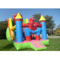 Wholesale Inflatable Spider Man Jumping House , Inflatable Bouncer Jumping Bouncy from china suppliers