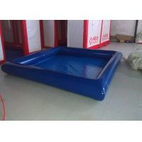 Wholesale Fire Resistant Square Outdoor Inflatable Swimming Pool High Heat Welded EN14960 from china suppliers