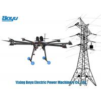 Quality UAV Drone Transmission Line Stringing Tools With Camera For Power Line , for sale