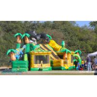 Wholesale Giant King Kong Inflatable Combo Childrens Bouncy Castle With Slide from china suppliers