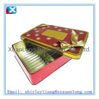 Wholesale Large christmas tin box for cookies from china suppliers