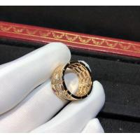 Wholesale Glamorous 18K Gold Ruby And Diamond Ring , Bvlgari Serpenti Ring from china suppliers