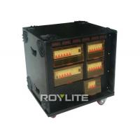 Quality 63A Portable 3 Phase Power Distribution Box , 4pcs 5P 32A CEE output for sale