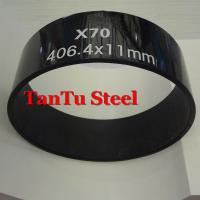 China ISO3183 API 5L ASTM A106 ASME B36.10m Carbon Steel Hot Forming Steel Line Pipes by Tantu on sale