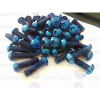 Wholesale ISO7380 titanium rainbow gold ,blue anodized bicycle bolts from china suppliers